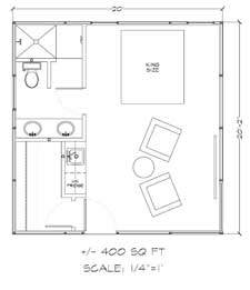Mohave house kit floor plan