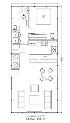 Sierra house kit floor plan