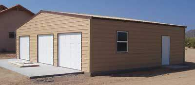 Metal Building Kits : Mohave Style