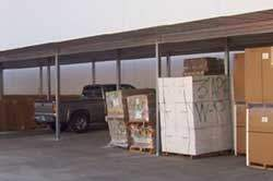 Single Slope Carports