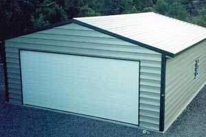 Steel Garage Teton Style