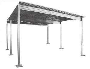 Single Slope Carport