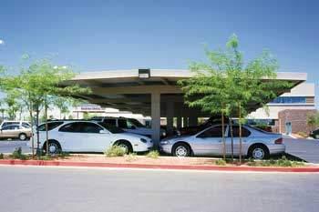 Commercial Carports - T Frame Design