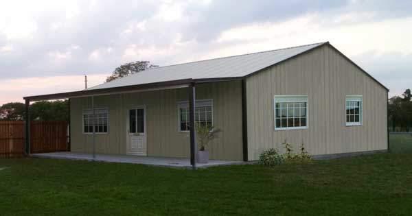 Kit home exterior