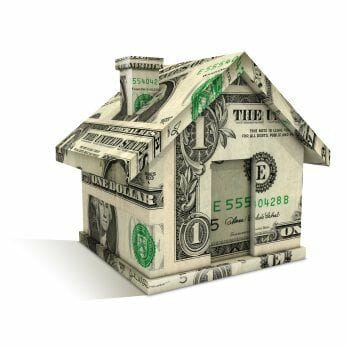 Kit home costs: house of one-dollar bills