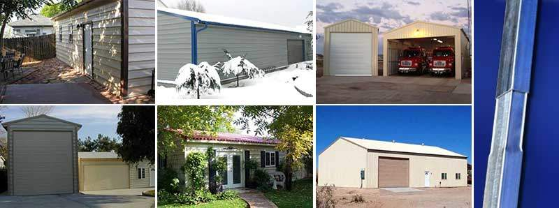 Metal Buildings, Metal Building Kits from Absolute Steel