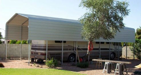 RV Covers And Shade Shelters Easy Installation Kits