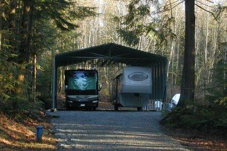 carport plans travel trailers