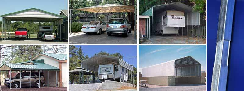 ABSOLUTE STEEL carports are not only are the right way to cover your vehicle but our carport kits make great RV covers boat covers heavy equipment ... & Carport Kits and Metal Carports : Made in the USA