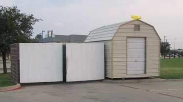 Commercial portable building