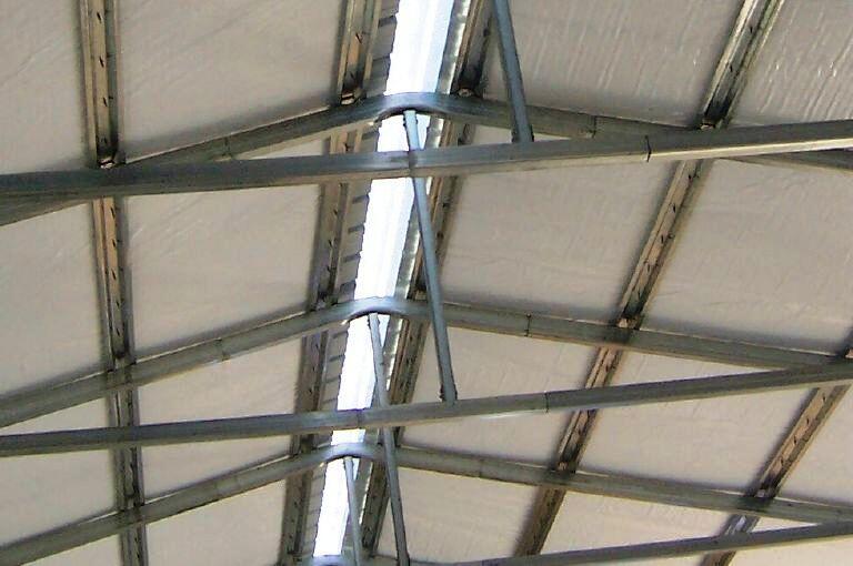 Steel Building Ridge Cap Skylight