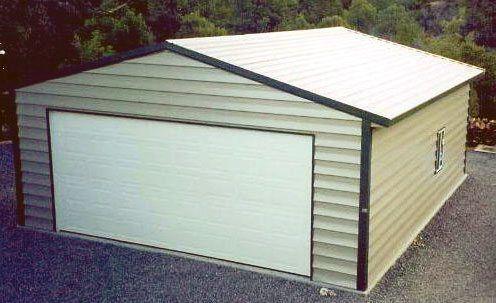 2 car garage metal