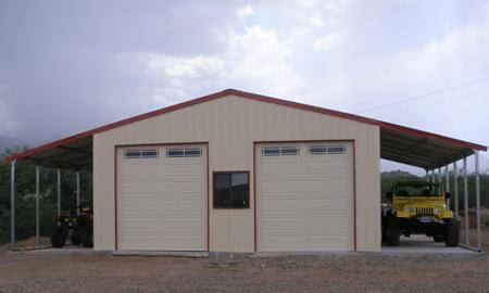 40 x 40 shop with living quarters metal building prices