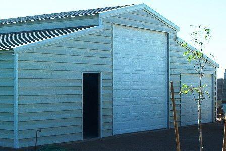 Metal barn buildings