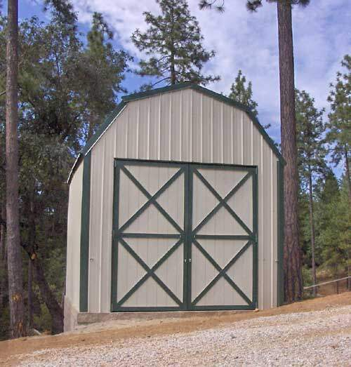 Gambrel barn building kits for Gambrel roof barn kits
