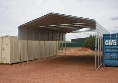Steel RV Carport in New Mexico