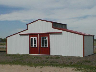 Steel Horse Barn Kit Example See What Our Customers Built