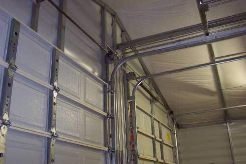 Steel Building Garage Door Interior Components