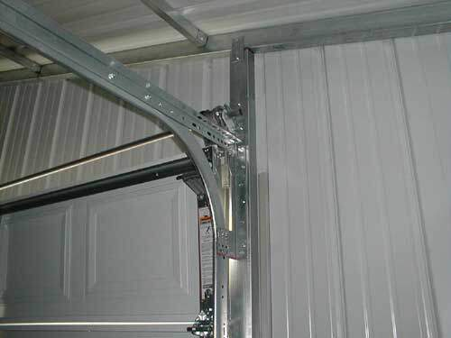 Sectional Garage Door Frame Assembly For Metal Buildings
