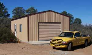 Do-It-Yourself Steel Buildings by Kevin and Le