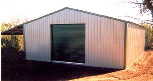 Metal shop building kit