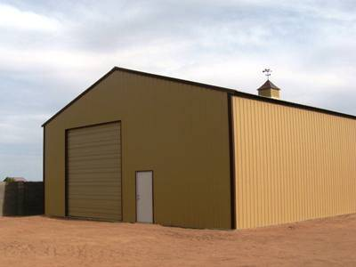 Metal Storage Building
