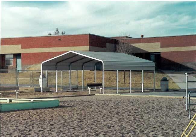 Rv Shelters Metal Arizona : Shade covers for playground walkways storage