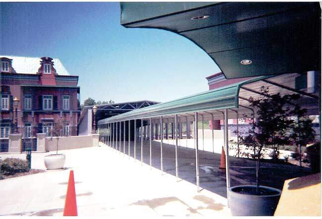 Covered Walkway
