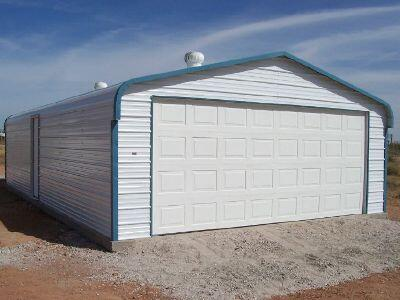 Quonset steel building