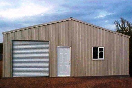 Guide to shed popular diy metal shed kits for Residential garage kits