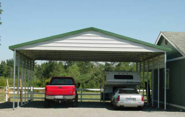 Teton carport testimonial what customers say for Stand alone garage kits