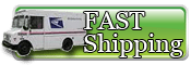 Fast shipping anywhere in the USA