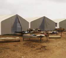 Disaster relief housing
