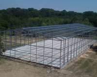 Building frame system