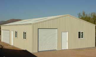 Gas and Oilfield Storage Building Kit