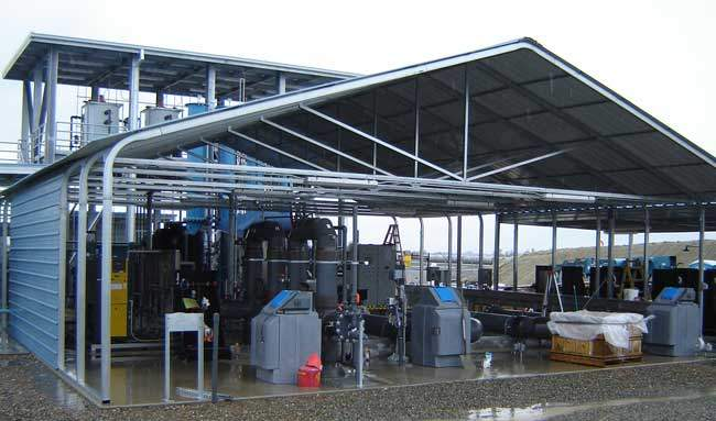 Gas and Oilfield Utility Structures