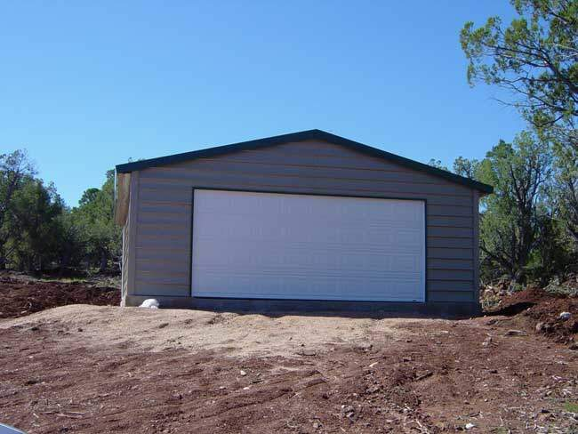 Traci and Cheri's new garage finished