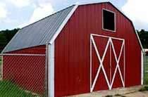 Gambrel Barn Style