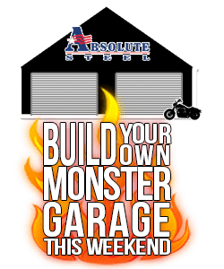 Build your monster garage