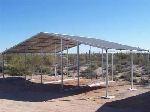 Base Model Continuous Slope Horse Shelter