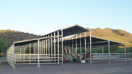 Raised Aisle Open Air Horse Barn Your Horse Will Prefer It