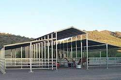 Open Air Horse Barn