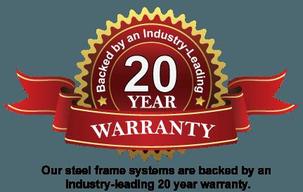 Steel Frame Warranty