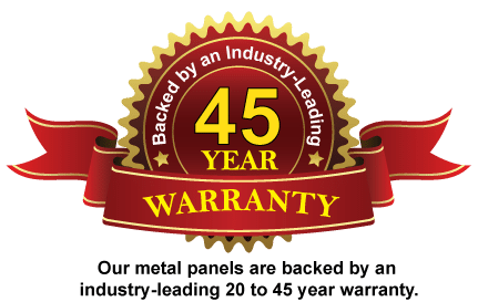 Metal Panels Warranty