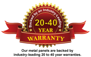 Steel panel warranty