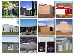 Metal building kits examples