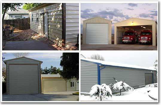 Steel building kits examples