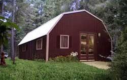 Kit home Gambrel style