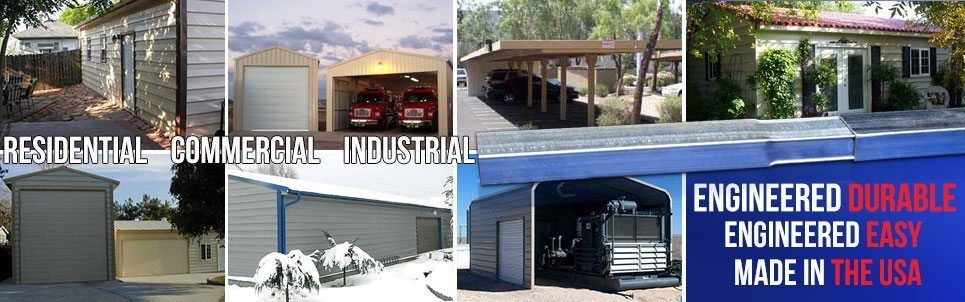 Metal Building Kits for Residential and Commercial Applications