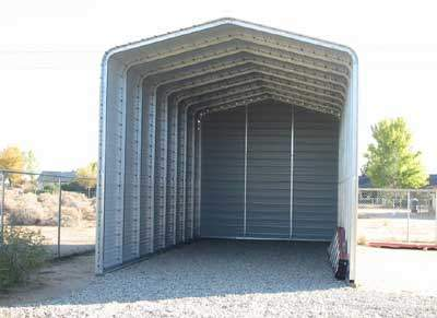 THREE SIDED CARPORT BY GARY O.